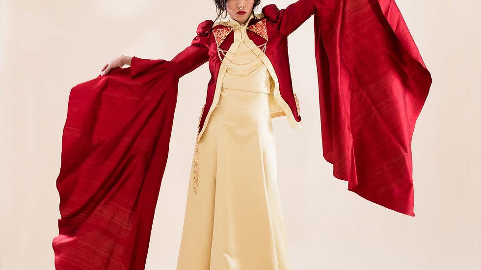 Red-alia dress
