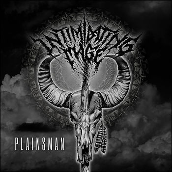 intimidating mage - plainsman (album cover)