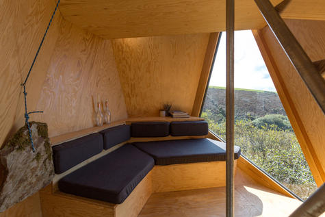 "Interior design of cabins made by ""Business Name New British Design"""