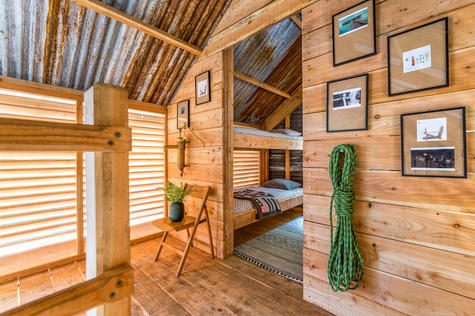 Cabin architecture in Devon and Cornwall