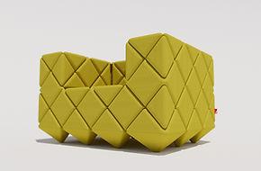 Concept armchair by British Designer Ben Huggins