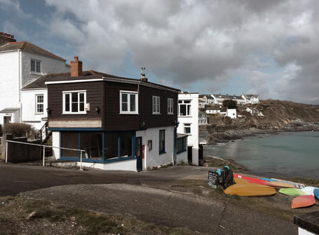 House for conversion by the sea in Cornwall