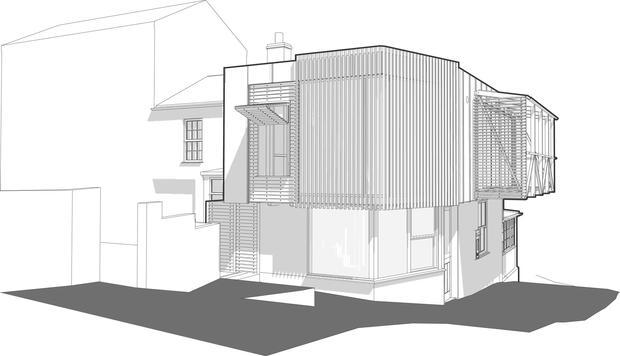 Coastal house in Cornwall