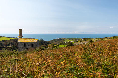 Site in AONB on north Cornwall coast