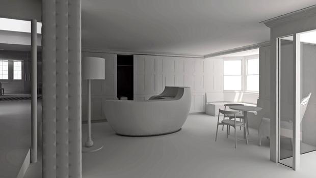 Hotel interior design in Devon