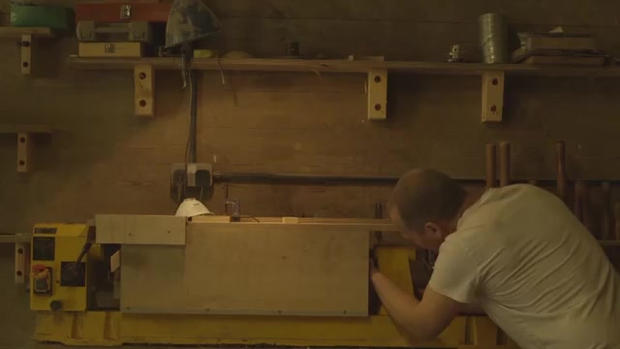 Video of Ben Huggins for the National Centre for Craft and Design