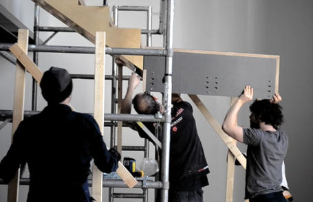 Making of wooden staircase in Exeter