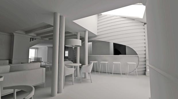 Bar interior design in Devon