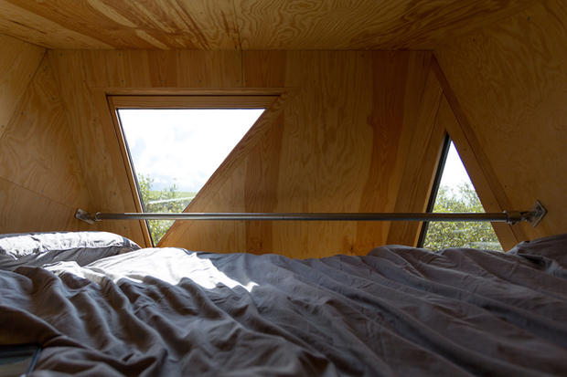 Triangular bespoke windows and glazing