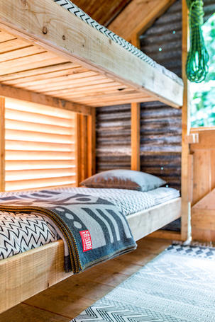 Glamping and camping architecture Devon and Cornwall