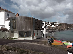 Seafront house in cornwall by award winning architect