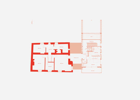 Plan drawing of Batelease Farm