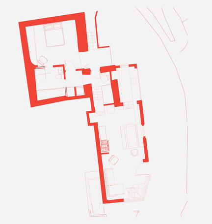 """Plan of coastal house by """"Business Name New British Design"""""""