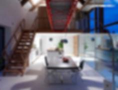 Bespoke interior design of converted rural barn and farmhouse