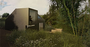 Holiday let accommodation architecture Cornwall