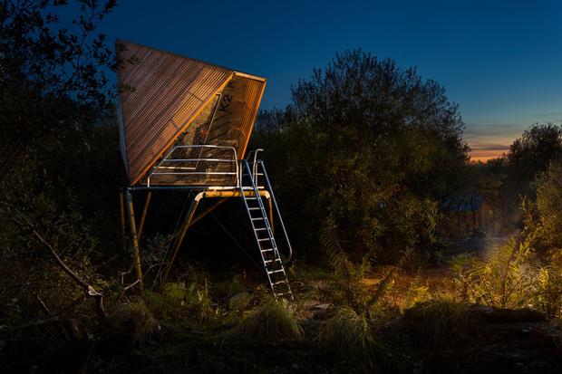 Kudhva wild glamping pod designed by maker Ben Huggins