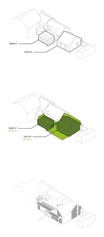 Architects specialising in planning permission for large house extensions