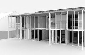 Low energy retrofit house by award winning architect
