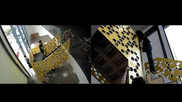 Video of manufacturing process of 30mph Staircase