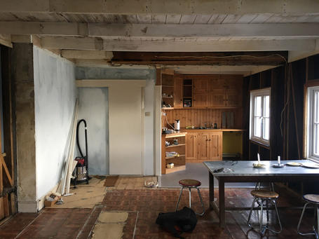 Interior for conversion and restoration