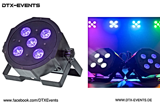 Fun Generation SePar Quad LED RGB UV IR.