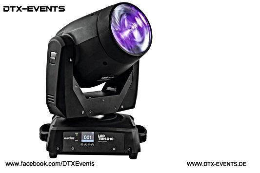 EUROLITE LED TMH-X10 Moving-Head Beam%0A