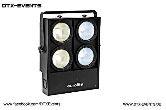 EUROLITE Audience Blinder 4x100W LED COB