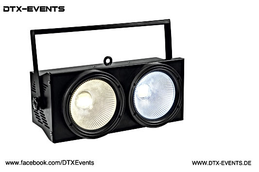 EUROLITE Audience Blinder 2x100W LED COB
