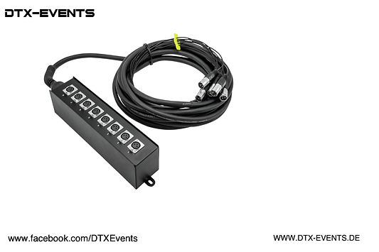 Multicore Stagebox MUS-810 8IN 10m%0A%0A