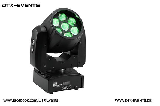 EUROLITE LED TMH-W63 Moving-Head Zoom Wa
