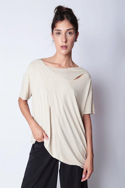 Camiseta Transpasse Vortex Barbante