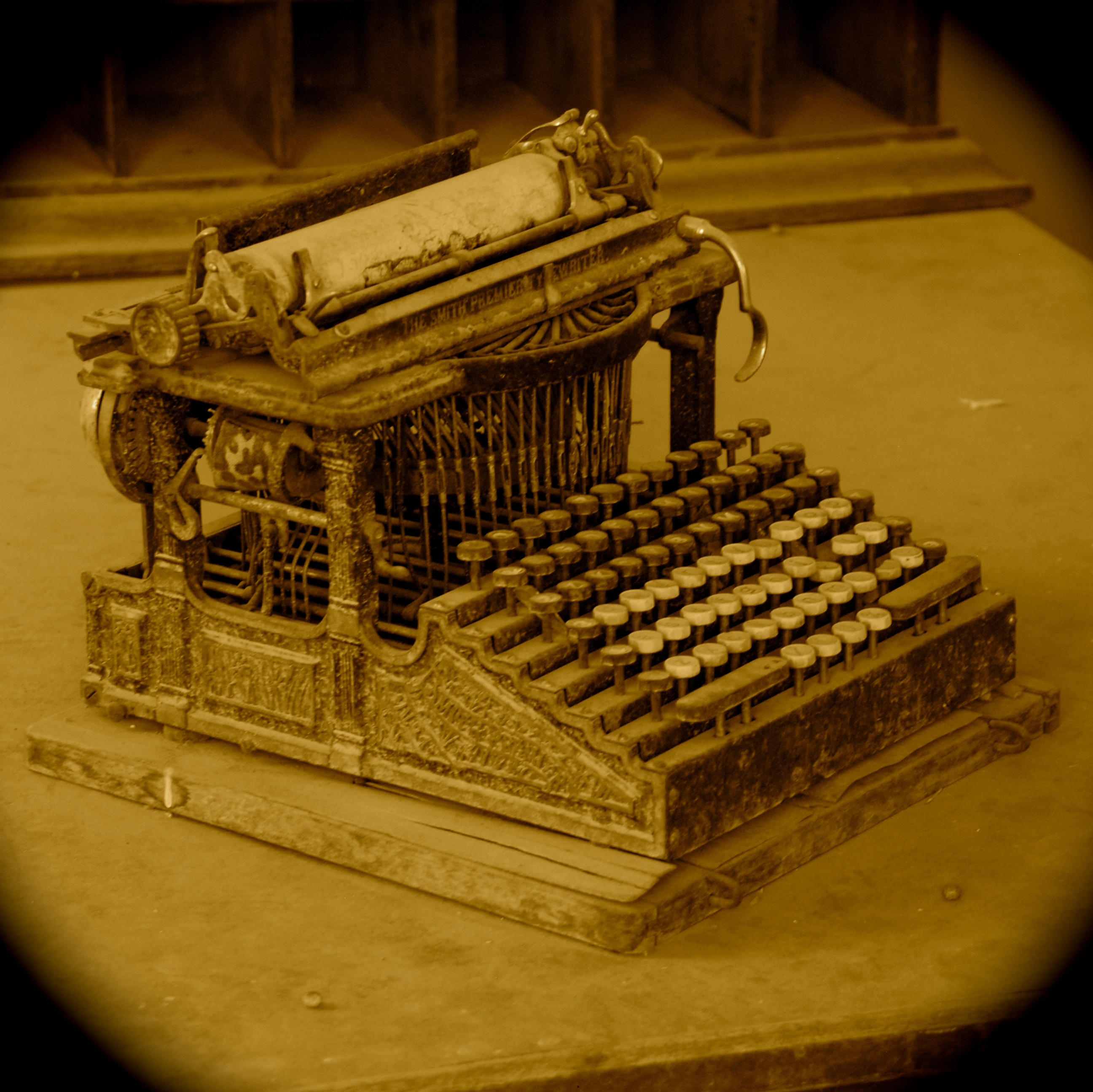 Antique Typewriter - Bodie