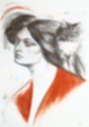 Drawing of woman and cat.jpg