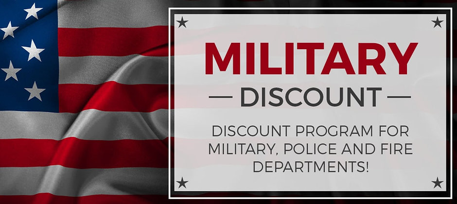Military Personnel Discount