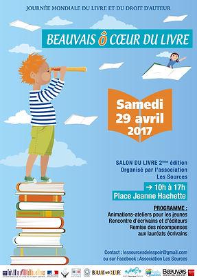 journée mondiale du Livre à Beauvais