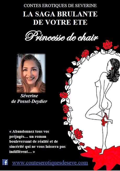 Affiche du livre Princesse de Chair