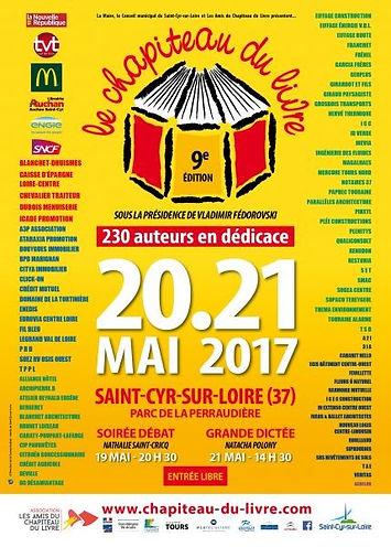 salon chapiteau du Livre de Saint Cyr sur Loire