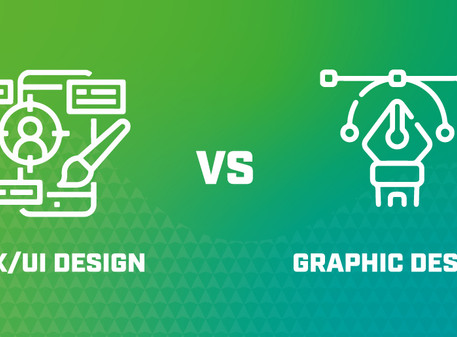 What is the difference between Graphic Design and UI/UX Design