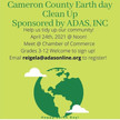 Earth Day Clean Up April 24th In Cameron County