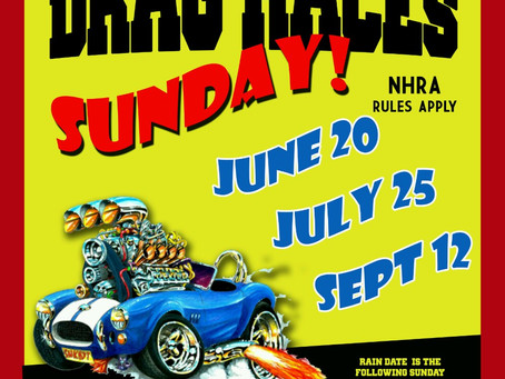 First Drag Race Of Summer June 20th At St. Marys Airport