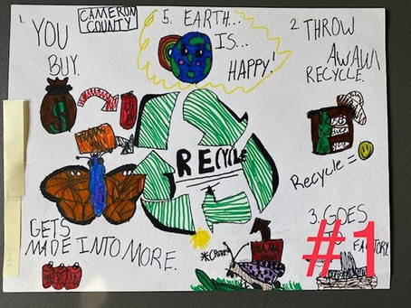 Cameron County Conservation District Recycling Poster Contest