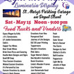 Light The Night Luminaria Display May 15th In St. Marys