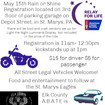 ABATE Relay For Life Dice Run May 15th