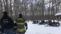 Emporium Fire Department Answers Call To Snowmobile Accident