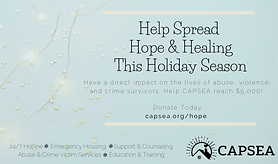 CAPSEA Holiday Fundraiser.png