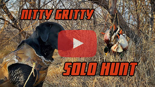 Solo Mallard Hunt - Wingmen Duck Hunting Late Season