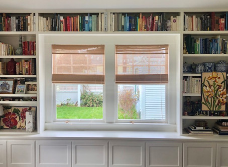 Everything Home. . . Color Coded Book Shelf