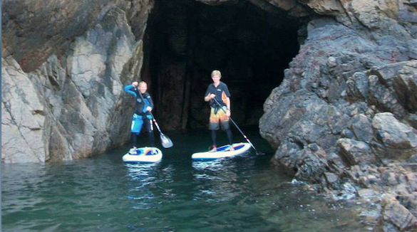 SUP - Stand up Paddleboarding in Jer