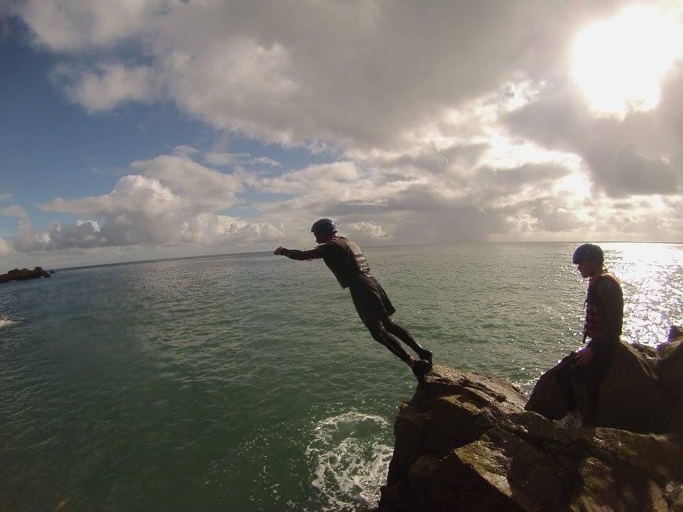 Coasteering in Jersey
