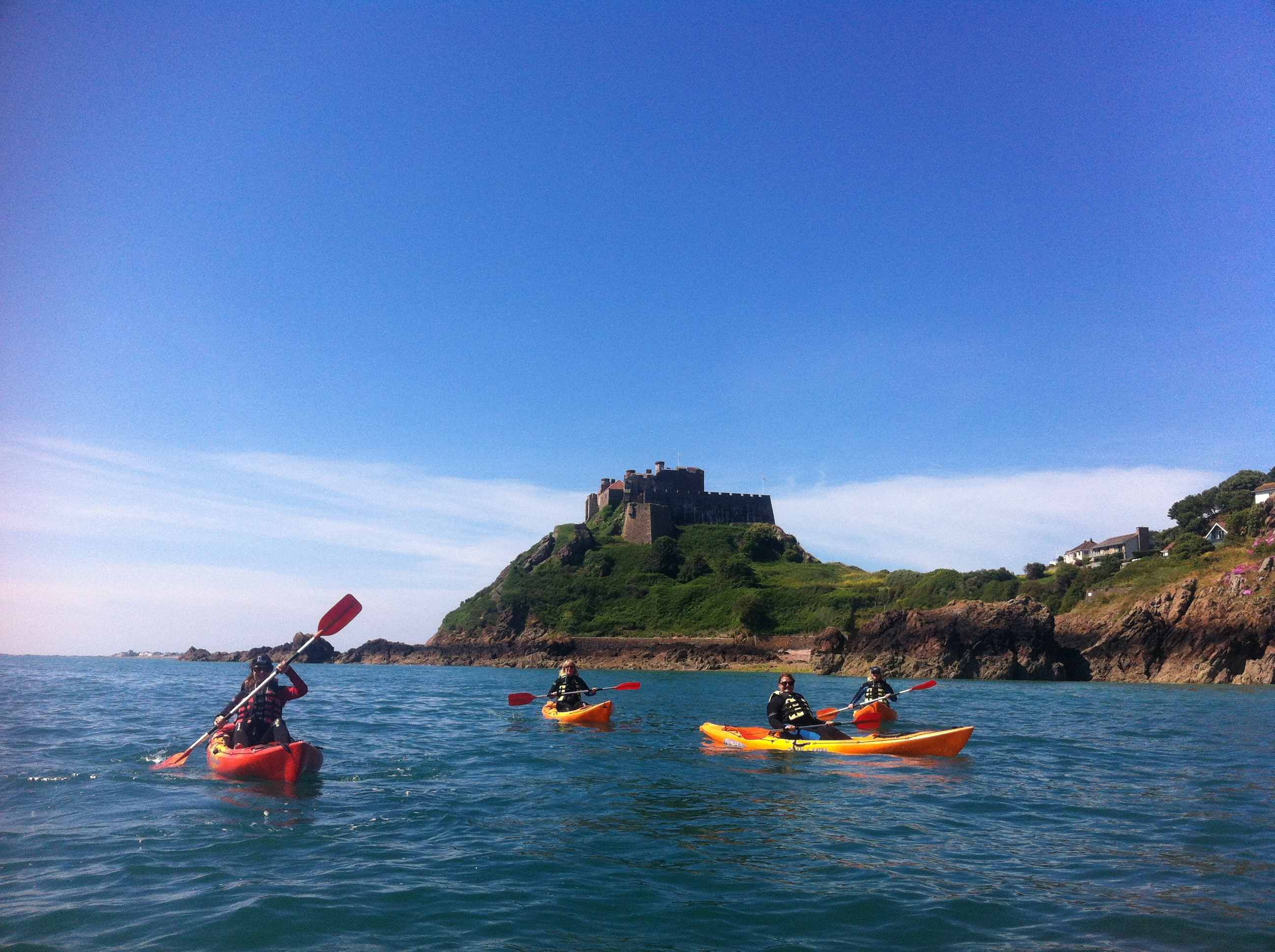 Kayaking - Jersey